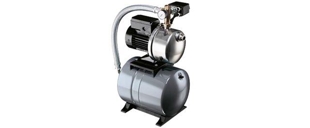 Grundfos vannpumpe med trykktank